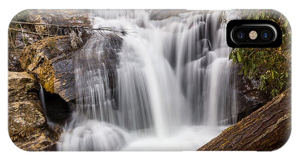 IPhone Case featuring the photograph Dukes Creek Falls by Michael Sussman