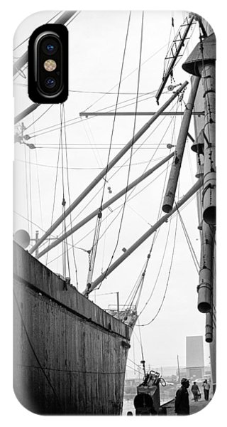 IPhone Case featuring the photograph Duluth Harbor by Mike Evangelist