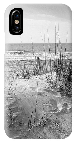 Dune - Black And White IPhone Case