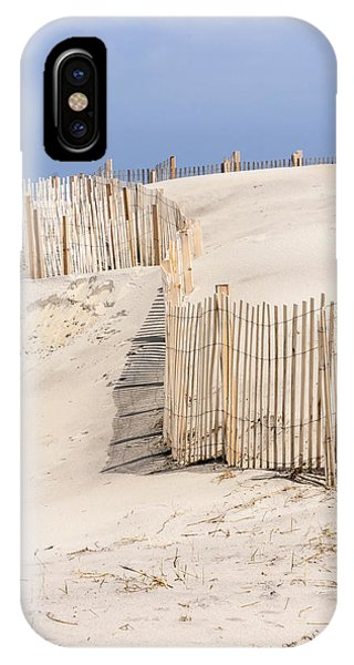 Dune Fence Portrait IPhone Case