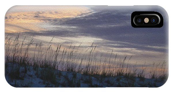 Dune Grass Blue IPhone Case