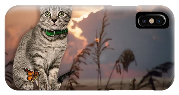 iPhone Case - Dune Kitty by Cynthia Leaphart
