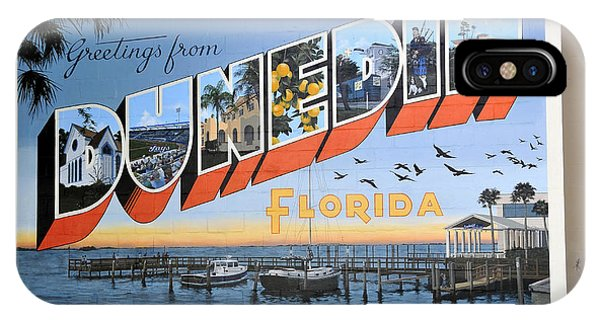 Dunedin Florida Post Card IPhone Case