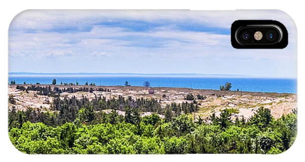 Dunes Along Lake Michigan IPhone Case