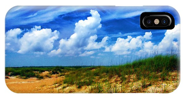 Dunes At Bald Head Island IPhone Case