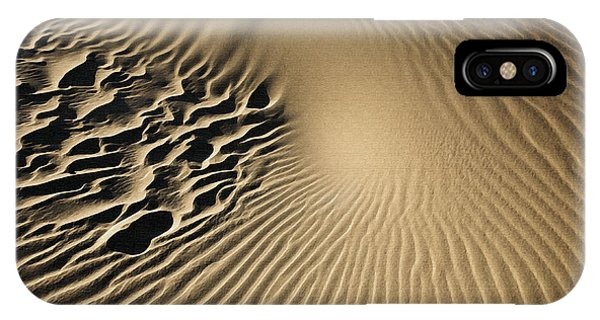 Dunes Footprints IPhone Case