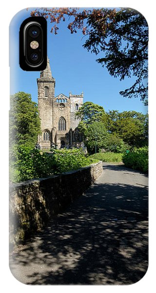 IPhone Case featuring the photograph Dunfermline Abbey by Jeremy Lavender Photography