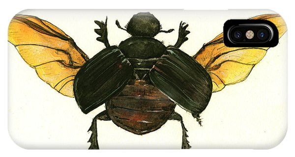 Dung Beetle IPhone Case