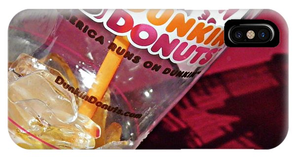 Dunkin Ice Coffee 29 IPhone Case