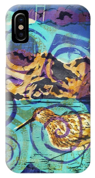 Dunlin On Mudflats IPhone Case