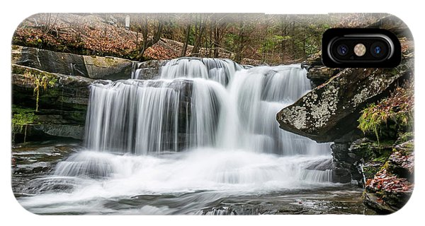 Dunloup Creek Falls IPhone Case