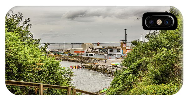 Dunmore East iPhone Case - Dunmore Cove by Ed James