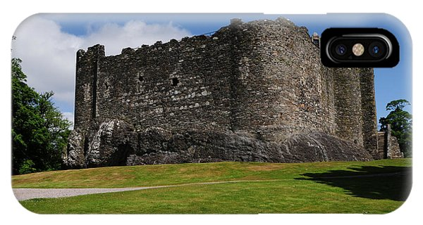 Castle iPhone X / XS Case - Dunstaffnage Castle by Smart Aviation