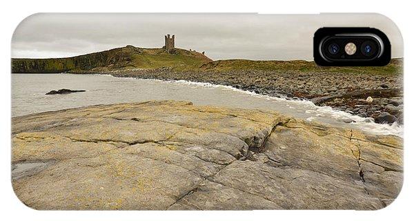 Castle iPhone Case - Dunstanburgh Castle by Smart Aviation