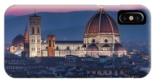 Duomo Di Firenze IPhone Case