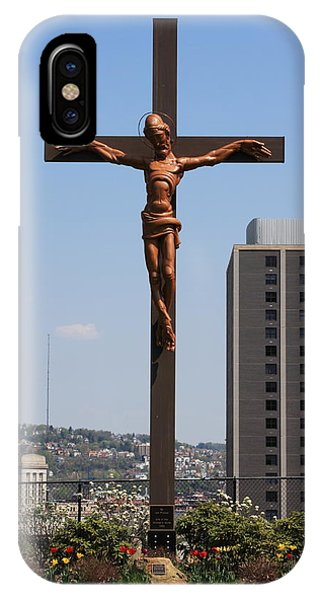 Duquesne Cross IPhone Case