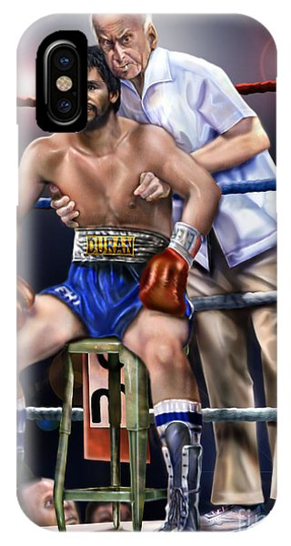 Duran Hands Of Stone 1a IPhone Case