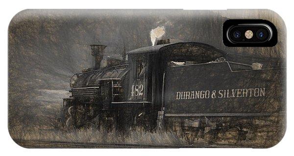 Durango And Silverton Train 2 IPhone Case