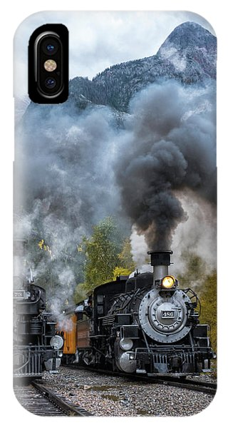 Durango Silverton Train IPhone Case