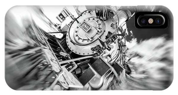Durango Silverton Train Arrives IPhone Case