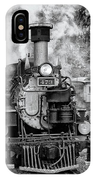 Durango Silverton Train Engine IPhone Case