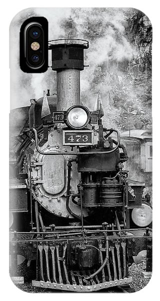 Durango Silverton Train Engine IPhone Case