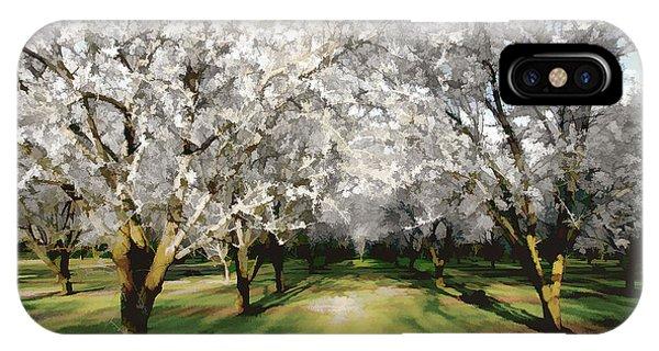 Durham Almond Blossoms IPhone Case