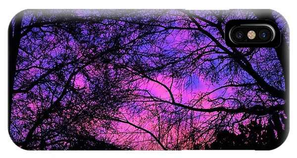 Dusk And Nature Intertwine IPhone Case