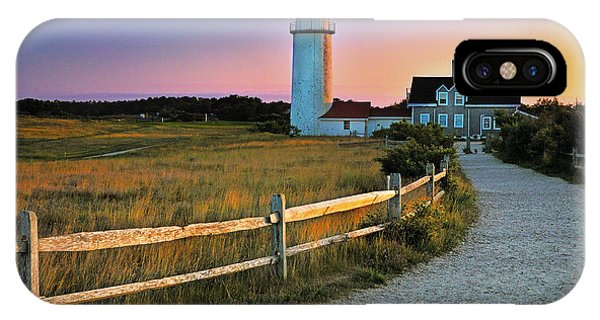 Dusk At Cape Cod Lighthouse IPhone Case
