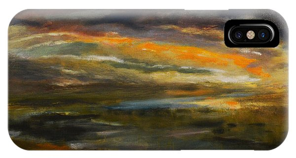 Dusk At The River IPhone Case