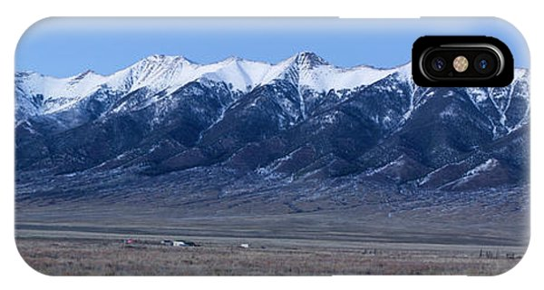 Sangre De Cristo iPhone Case - Dusk At The Sangre De Cristo Mountains by Twenty Two North Photography