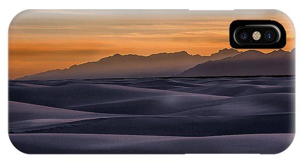 Dusk At White Sands IPhone Case