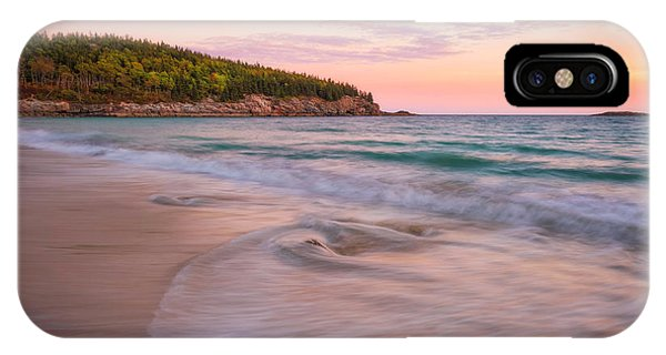 Dusk Glow At Sand Beach IPhone Case