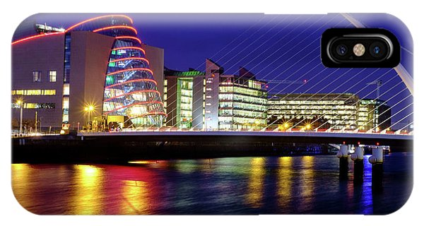 Dusk In Dublin IPhone Case