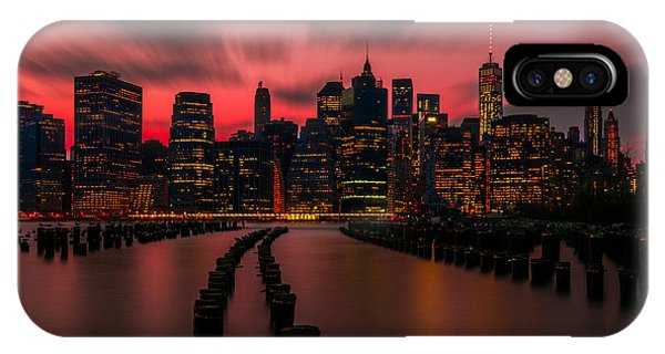 Dusk Manhattan IPhone Case