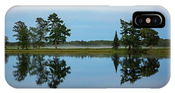 Dusk On Dog Lake IPhone Case