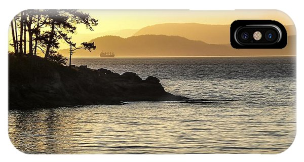 Dusk On Sucia Island IPhone Case