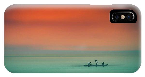 Dusk On The Lake IPhone Case