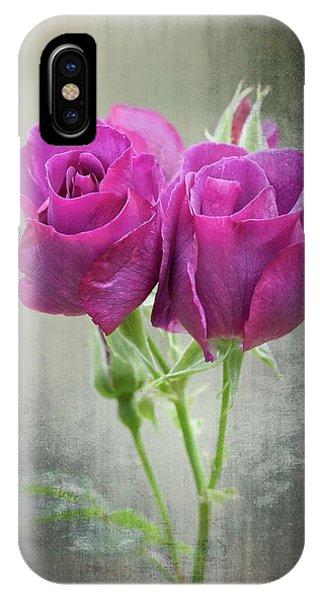 iPhone Case - Dusty Roses by Bill Linn
