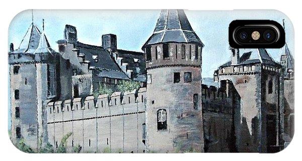 Dutch Castle In Muiden IPhone Case