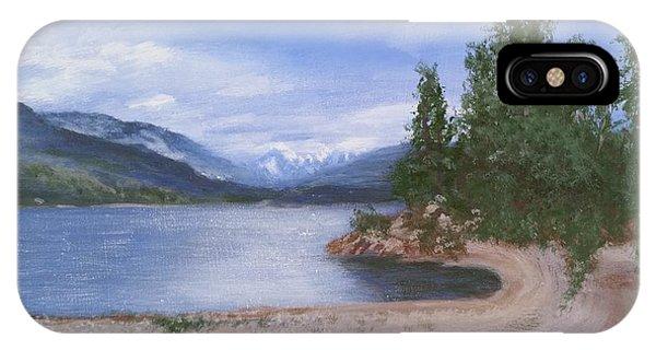 Dutch Harbour, Kootenay Lake IPhone Case