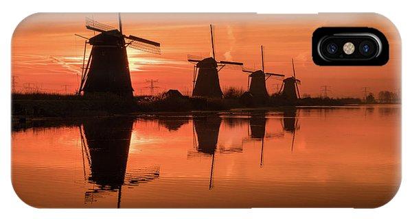 Dutch Sillhouette IPhone Case