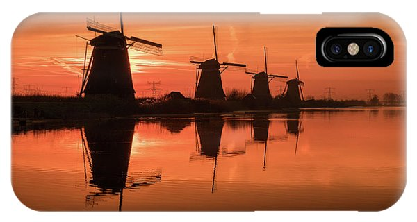 Dutch Sillhouette IPhone Case