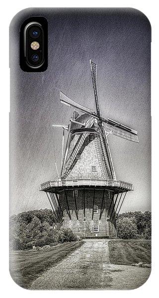 Windmill iPhone Case - Dutch Windmill by Tom Mc Nemar