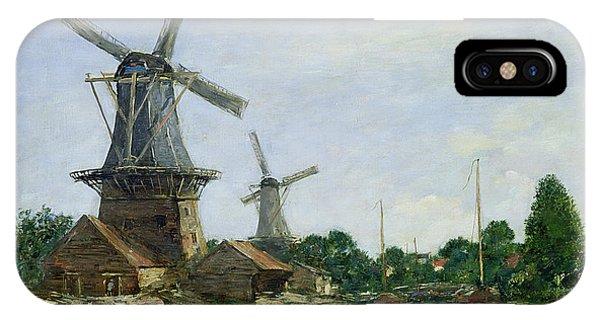Dutch Windmills IPhone Case