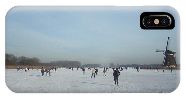 Dutch Winter Landscape IPhone Case