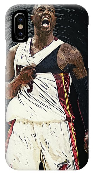 Assisted Living iPhone Case - Dwyane Wade by Zapista Zapista