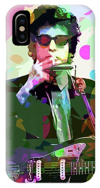 Dylan In Studio IPhone Case