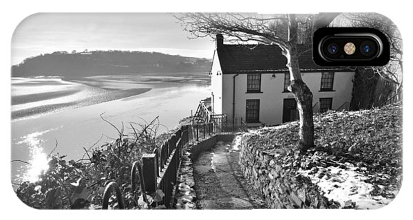 Dylan Thomas Boathouse 1b IPhone Case