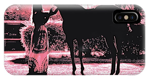 Dylly And Lizzy Pink IPhone Case